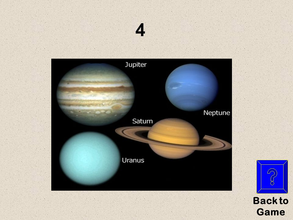 The number of outer planets What are … Outer Planets $100 Y es NO
