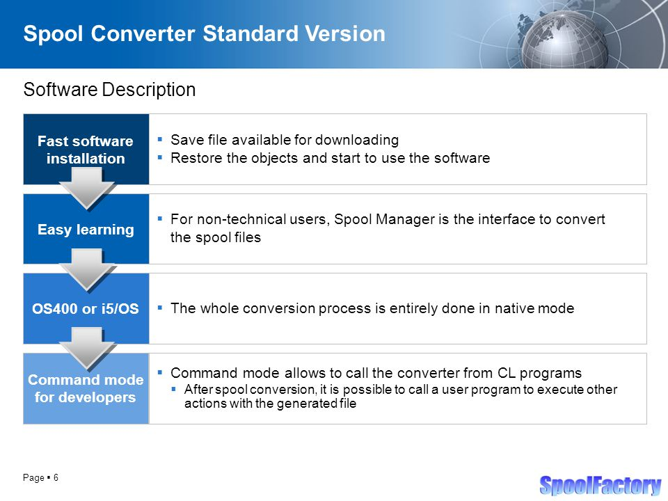 SpoolFactory – Free Tools Spool Conversion Software for i5/iSeries
