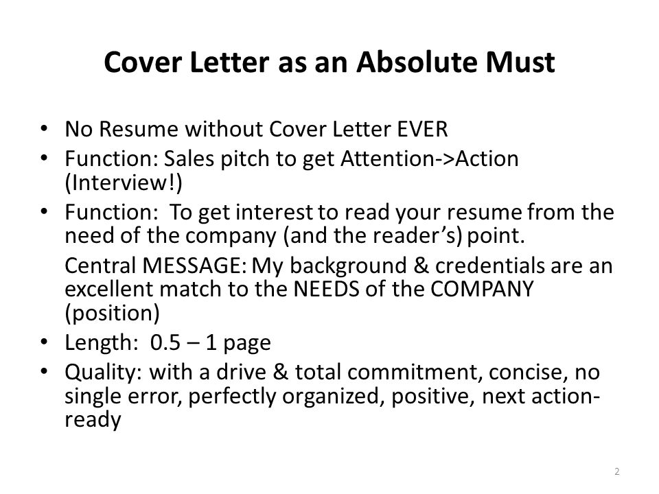 abc of cover letter your crucial sales pitch to get to an interview