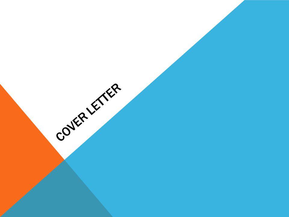 COVER LETTER. Review Cover Letter Types of Resume Resume Portfolio ...