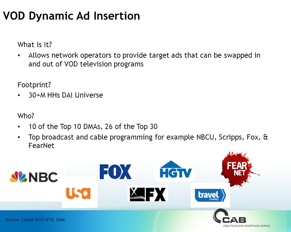 VOD Dynamic Ad Insertion What is It.