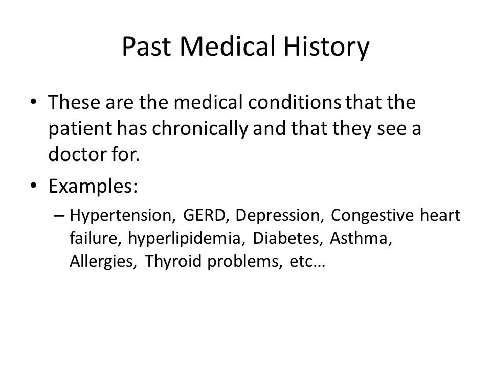 The History And Physical Exam The History Welcome The Patient