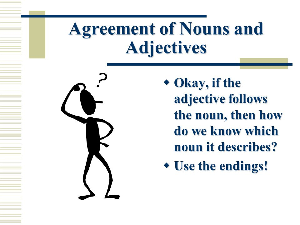 Adjectives In Latin Latin I Grammar Lesson Use Of Adjectives