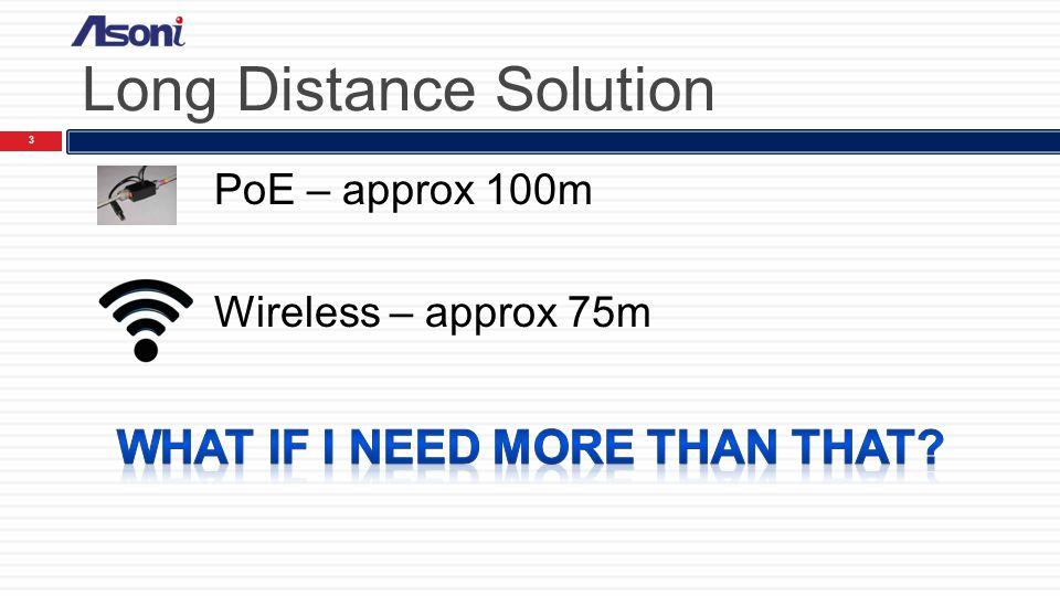 Agenda 2 1  Long Distance Solution 2  WiFi Multiple Hops
