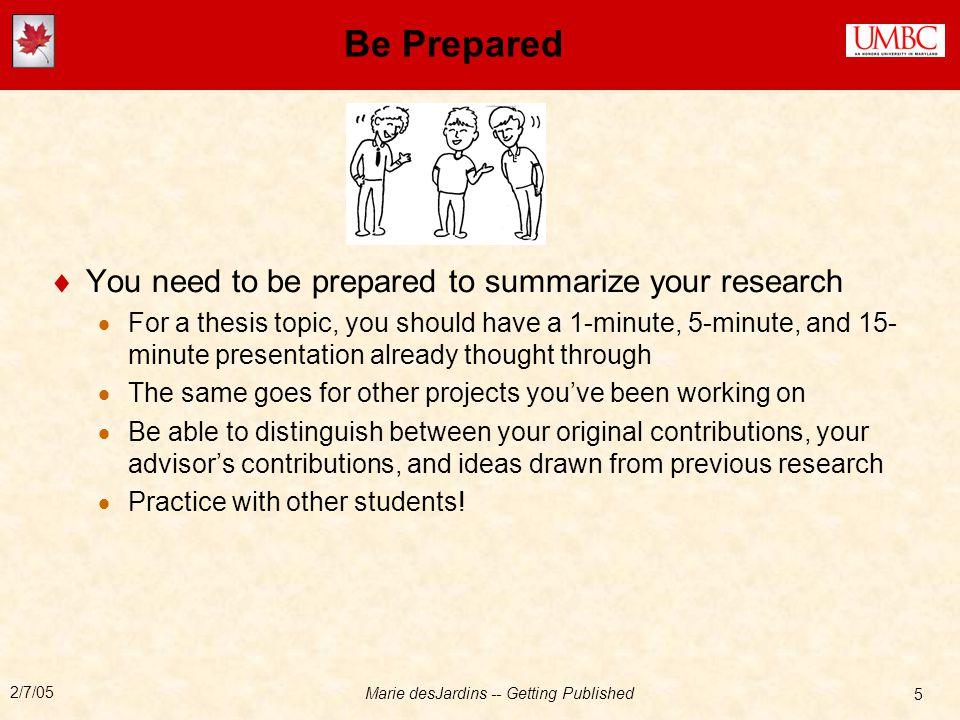 5 minutes presentation topics