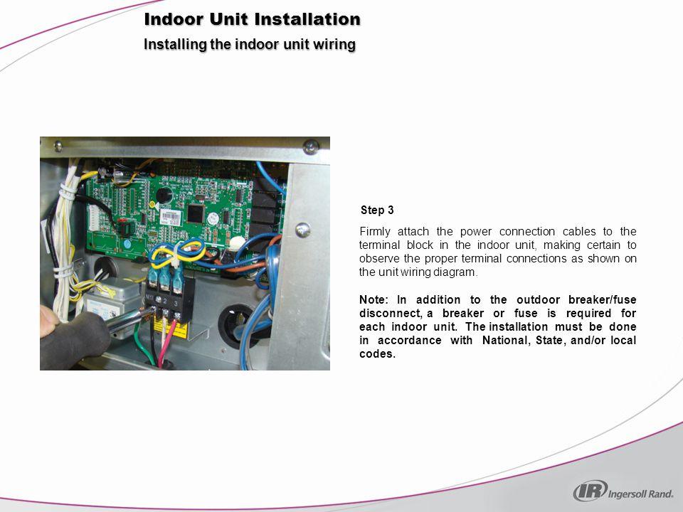 Installation. Indoor Unit Installation Typical Installation. - ppt ...