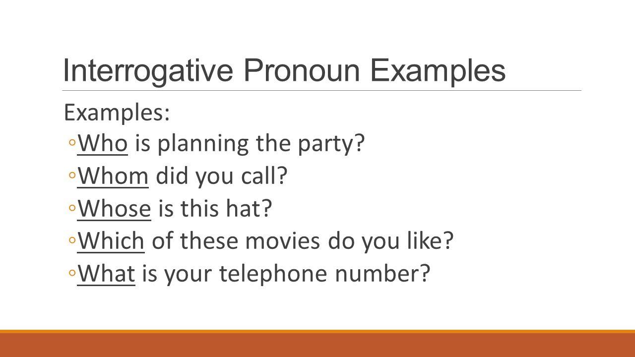 Lesson 3-4: pronouns that ask questions. Interrogative pronouns.