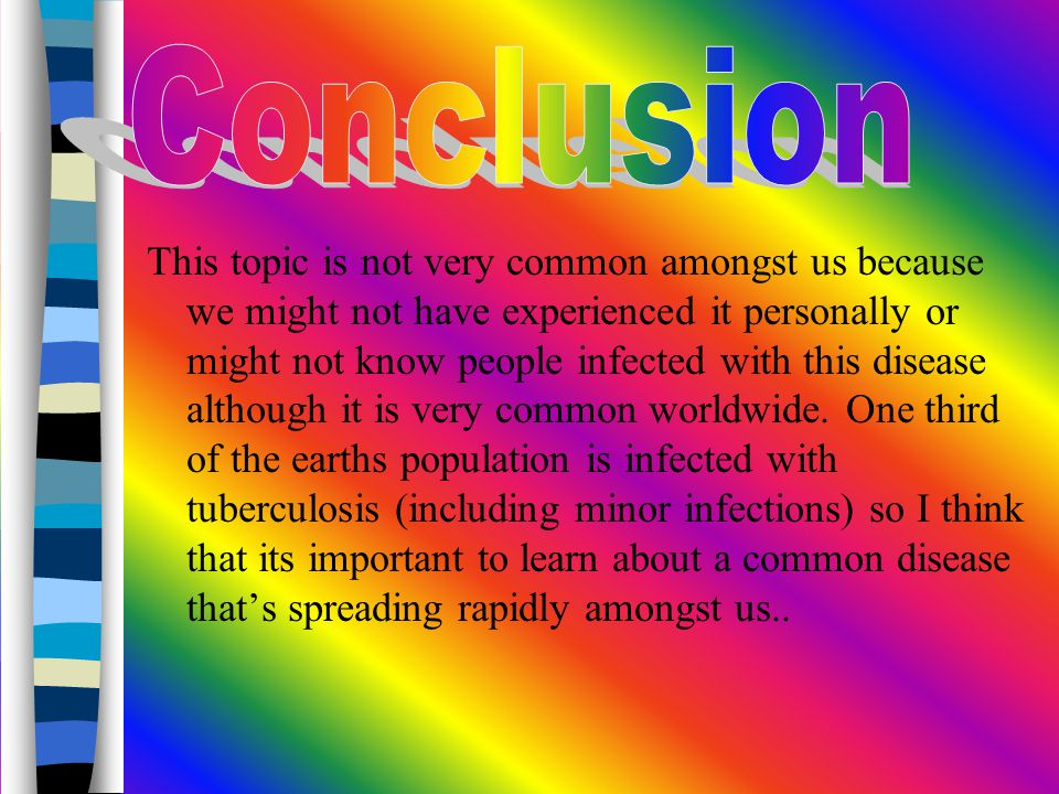 i This topic is not very common amongst us because we might not have experienced it personally or might not know people infected with this disease although it is very common worldwide.