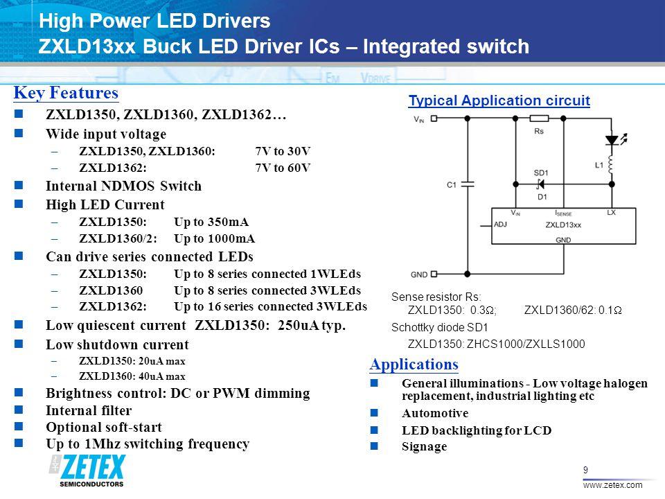 Zetex Lighting Solutions June ppt download