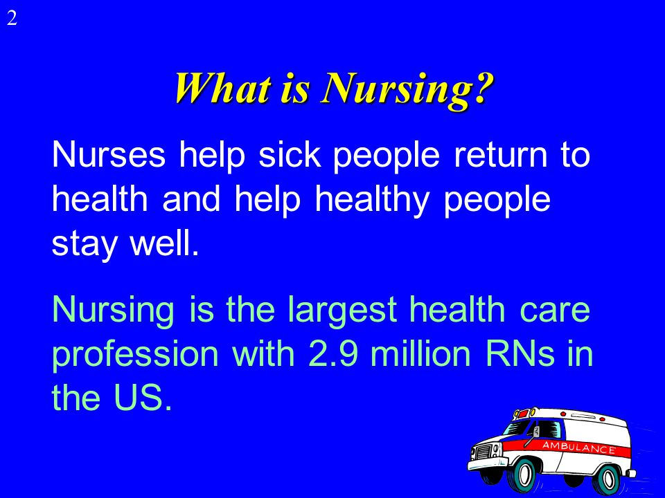 Nursing: What's It All About 1