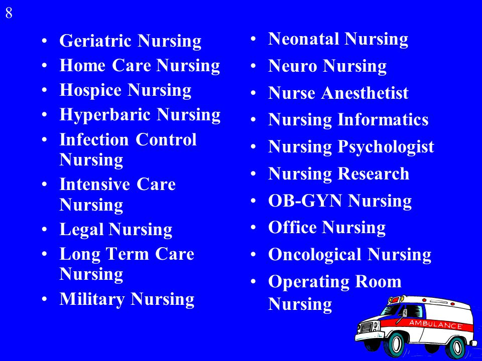 Nursing is a Broad Profession. Nursing is a Broad Profession.