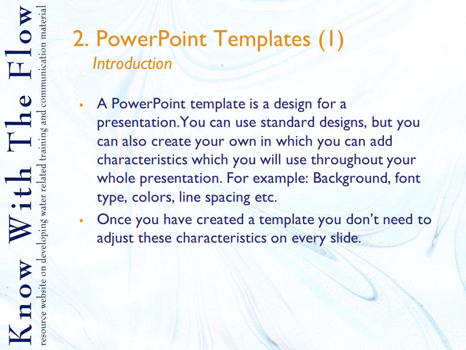 Ms Powerpoint Tips And Explanation Table Of Contents 1eate A