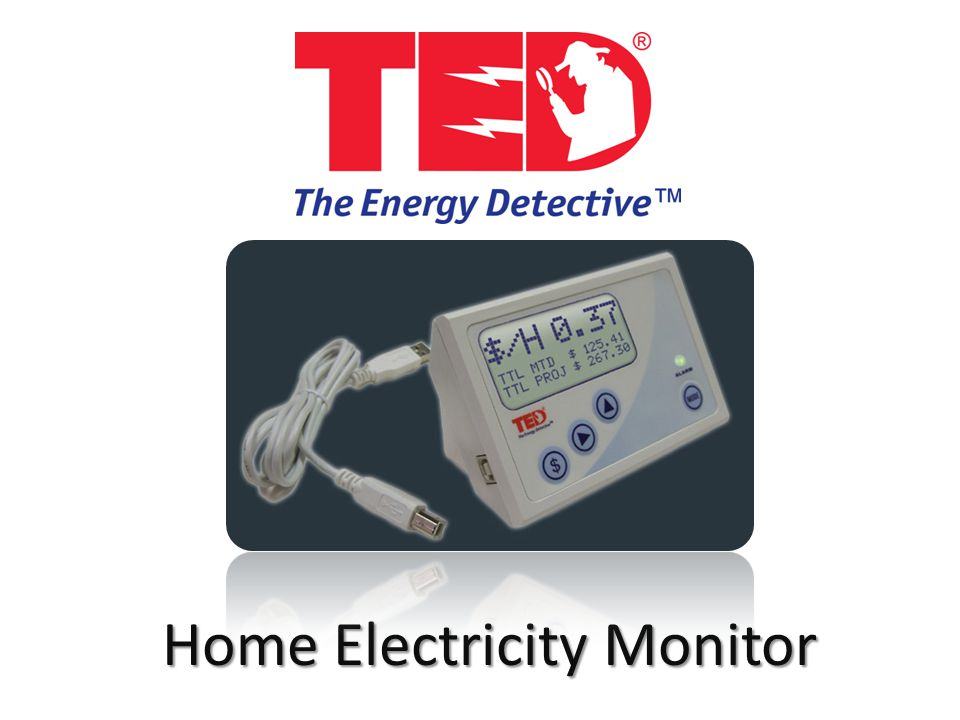 The Energy Detective >> Home Electricity Monitor What Is Ted The Energy Detective Home