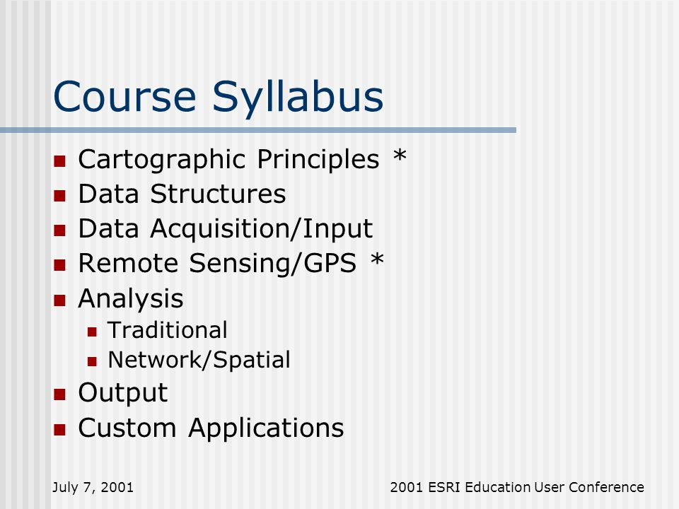 course syllabus Snl undergraduate and graduate courses are offered in a great variety of topics most snl undergraduate courses are open to all depaul students.