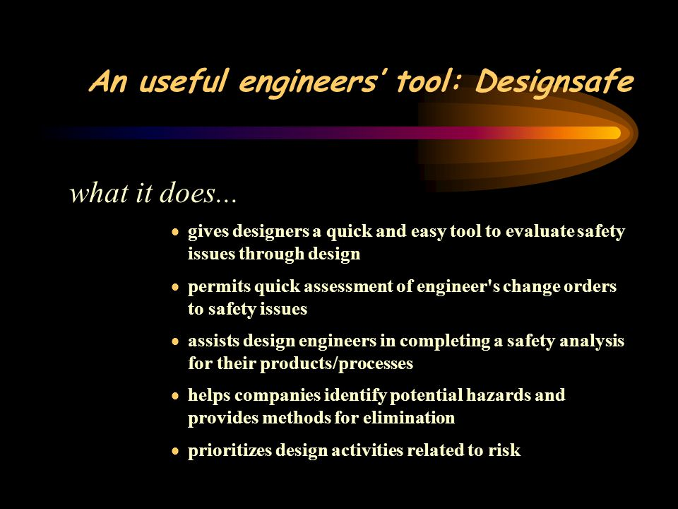 An useful engineers' tool: Designsafe what it does...
