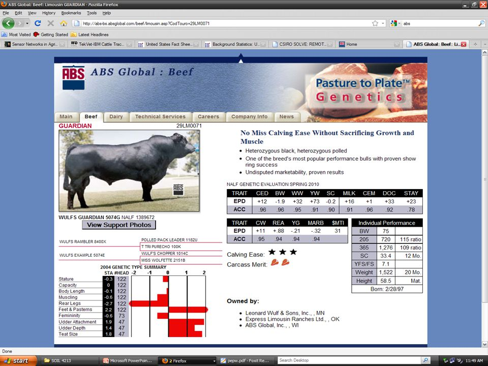Precision Agriculture In The Beef Cattle Industry Thomas Hyde SOIL