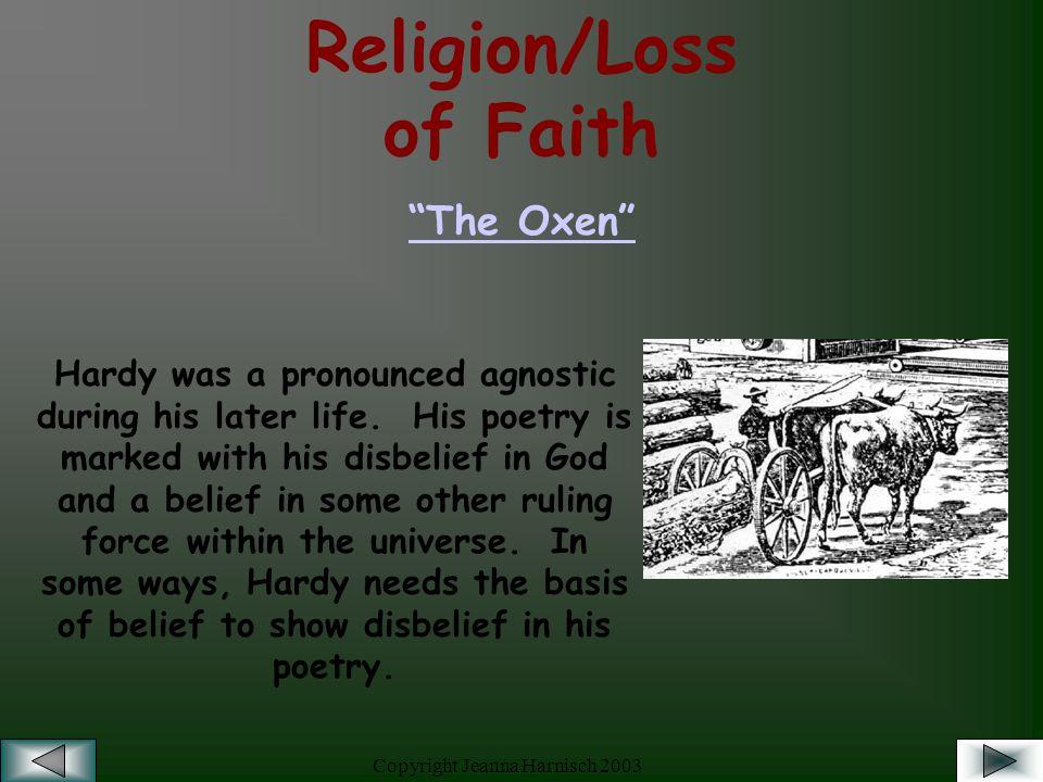 the oxen poem theme