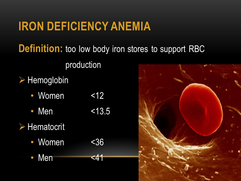 By billupsforcongress Iron Deficiency Anaemia Ppt