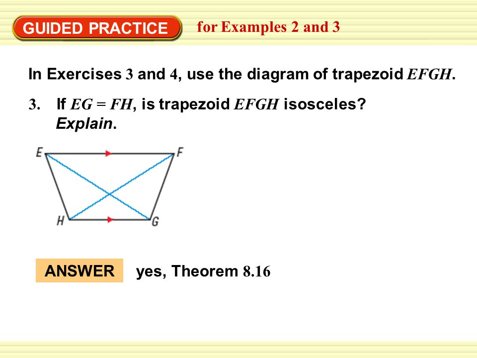 example 2 use properties of isosceles trapezoids arch the stone rh slideplayer com moment diagram of trapezoidal load diagram of trapezoidal prism