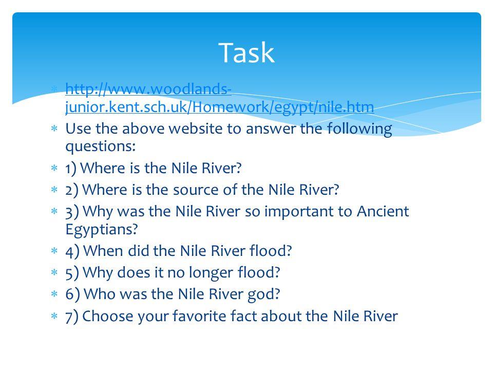 resources woodlands junior kent sch uk homework egypt nile