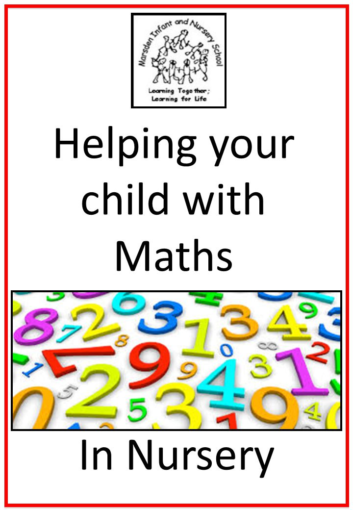 1 Helping Your Child With Maths In Nursery