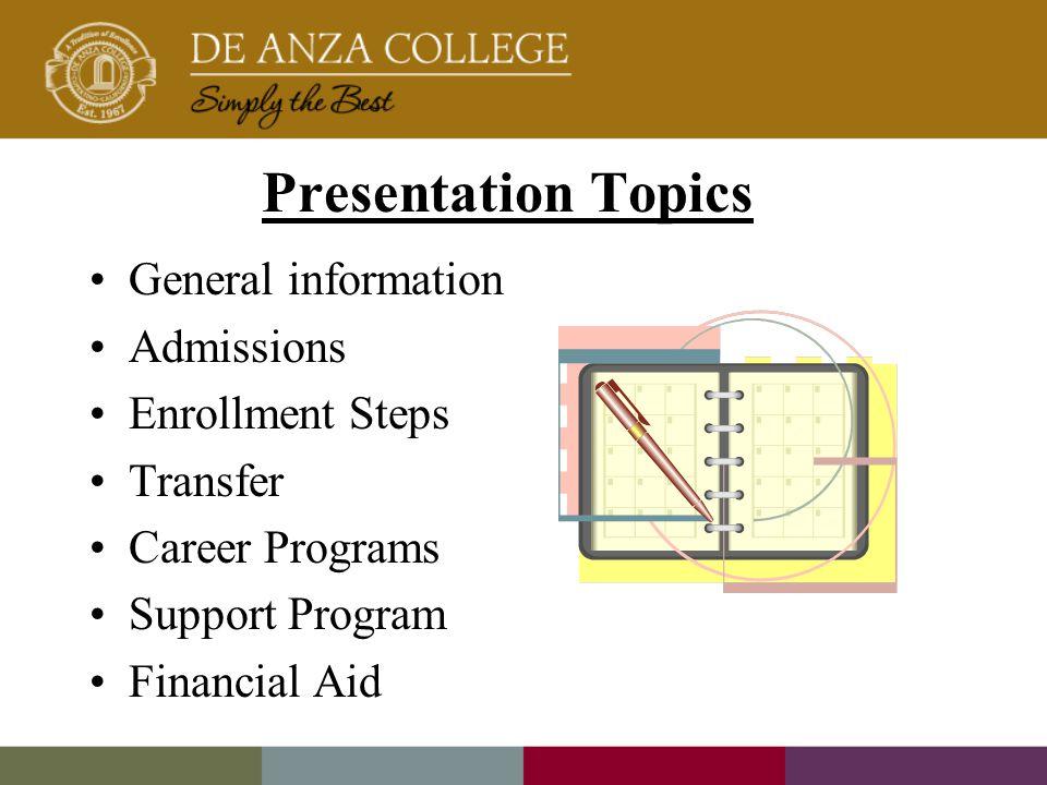 good topics for presentation on general topics