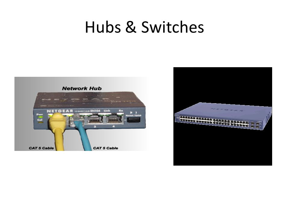 Hubs & Switches
