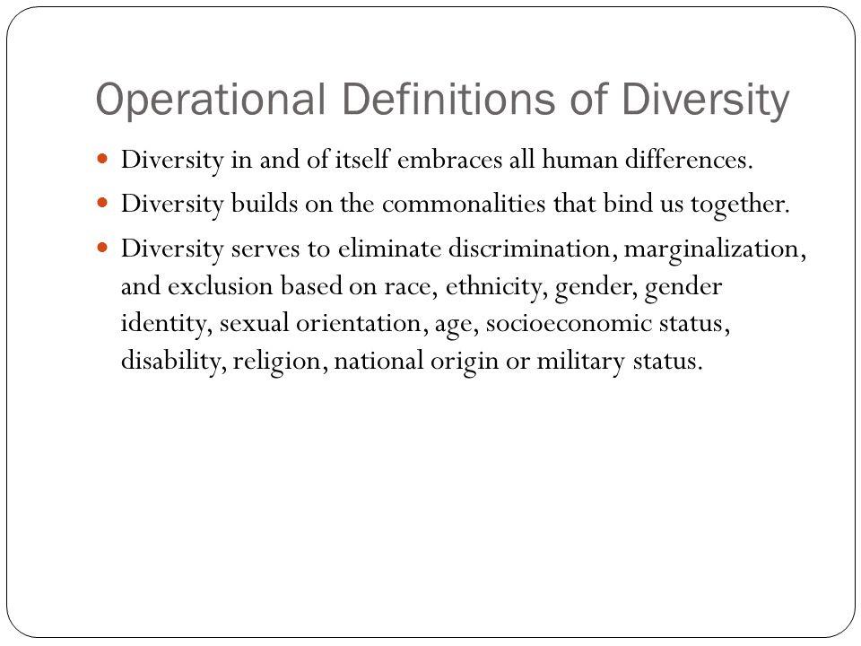 Sexual orientation diversity definitions