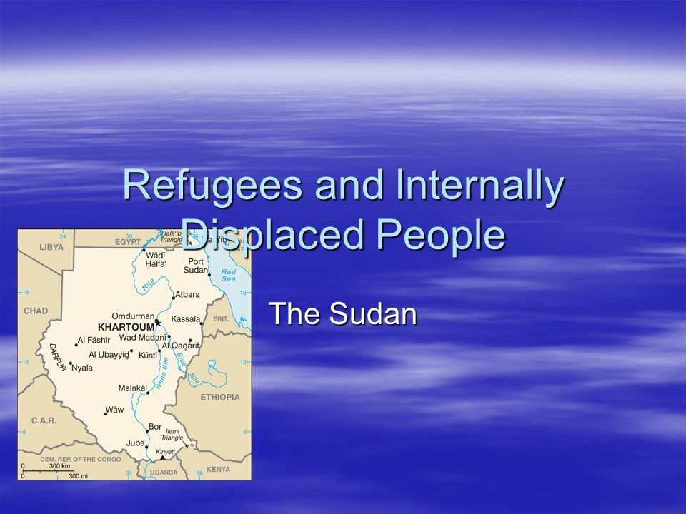 Refugees and Internally Displaced People The Sudan