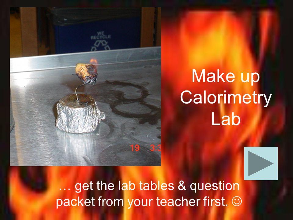 soda can calorimeter sources of error