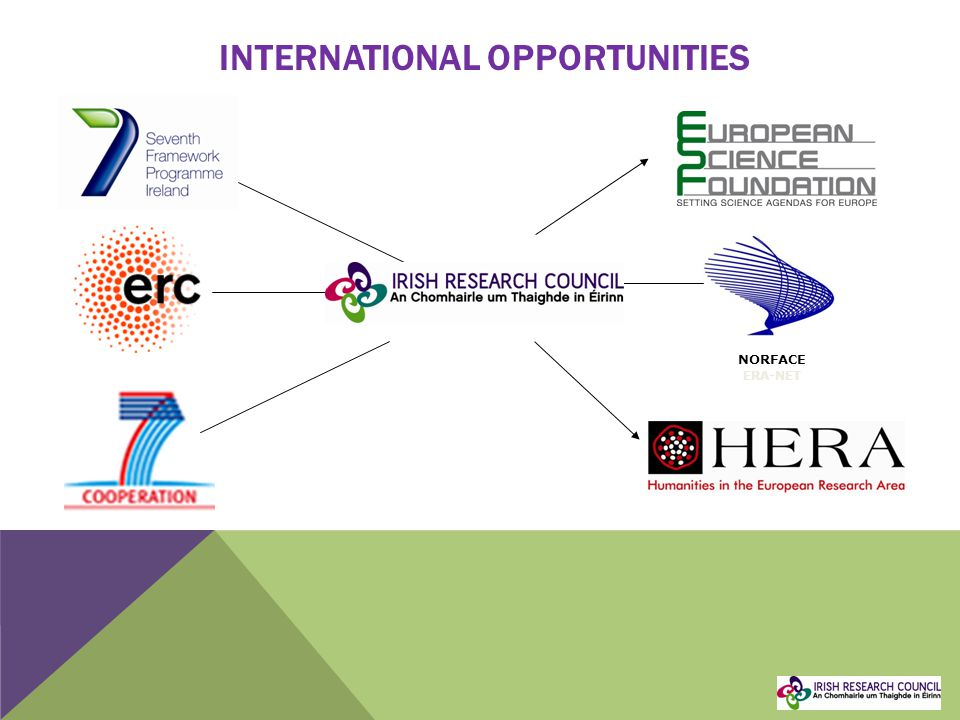 INTERNATIONAL OPPORTUNITIES NORFACE ERA-NET