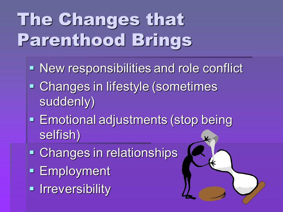 Characteristics of a good parent