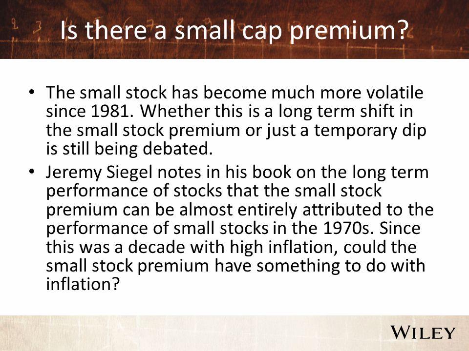 Small is good? Small cap investing Aswath Damodaran  - ppt