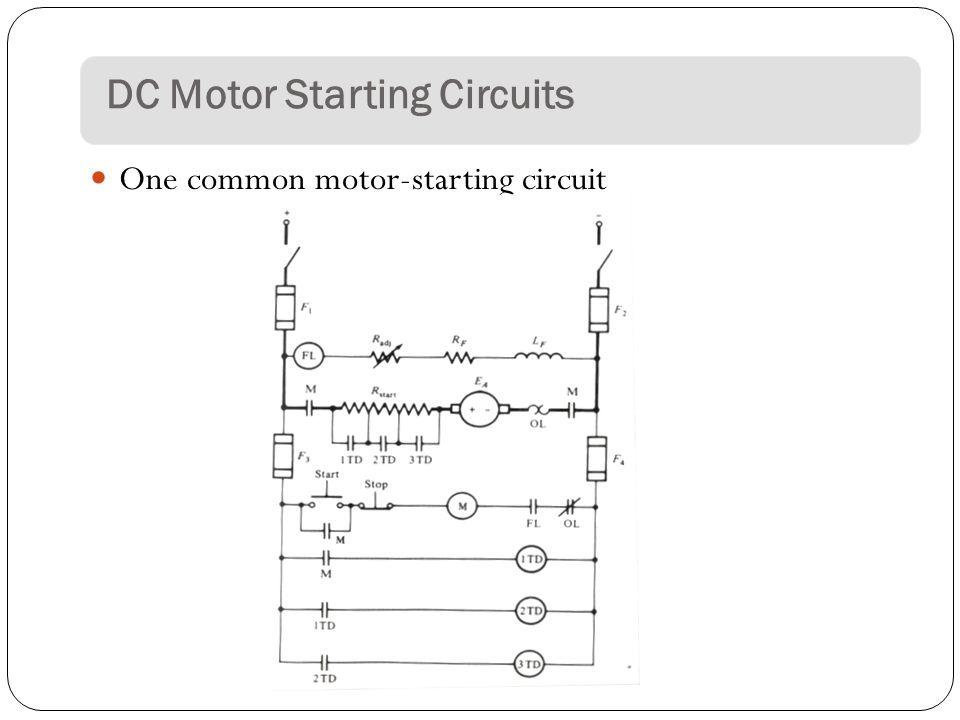 KL3073 DC Motors Starters and Breaking Methods. DC MOTOR STARTERS In ...