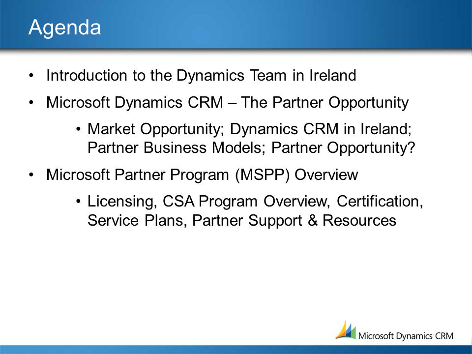 Microsoft Dynamics Crm Strategy Business Opportunity Ppt Download