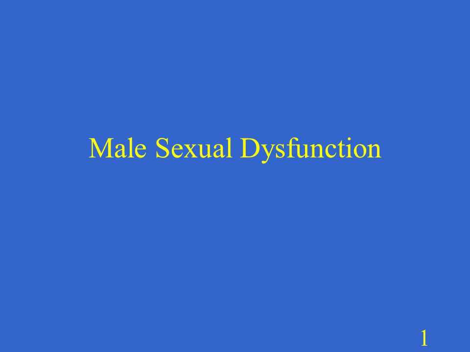 Male hypoactive sexual desire disorder treatment