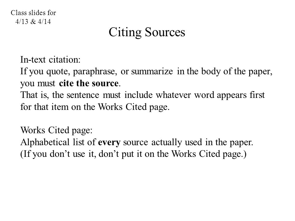 how to in text cite a quote
