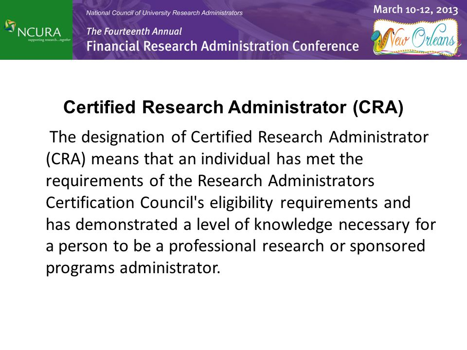 Masters In Research Administration Programs Are All The Rage What
