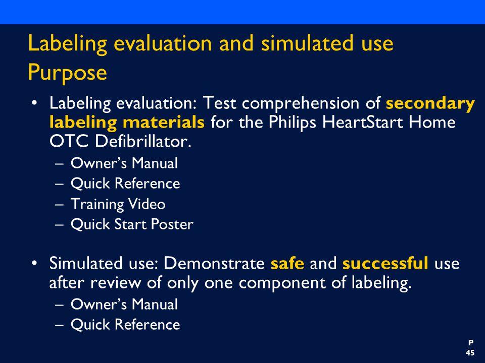 HeartStart Home OTC Defibrillator FDA Panel Presentation