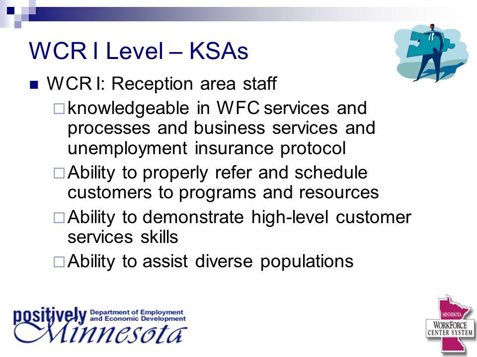 DEED WorkForce Center RRA Certification Program Module 1