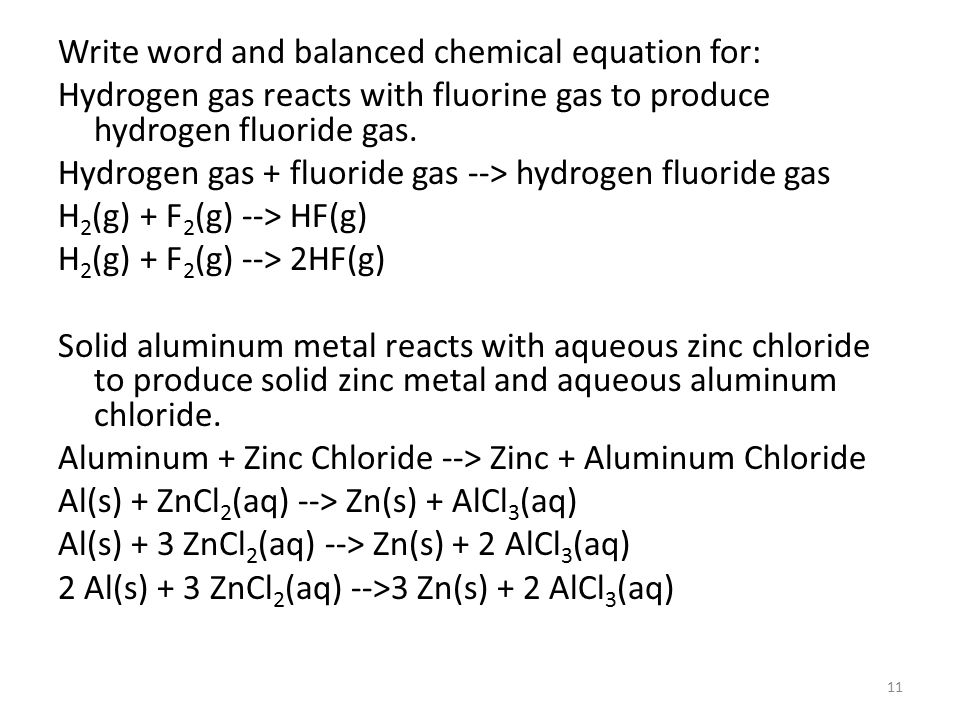 Chemical Equations Reactions 1 Learning Objectives Recognize