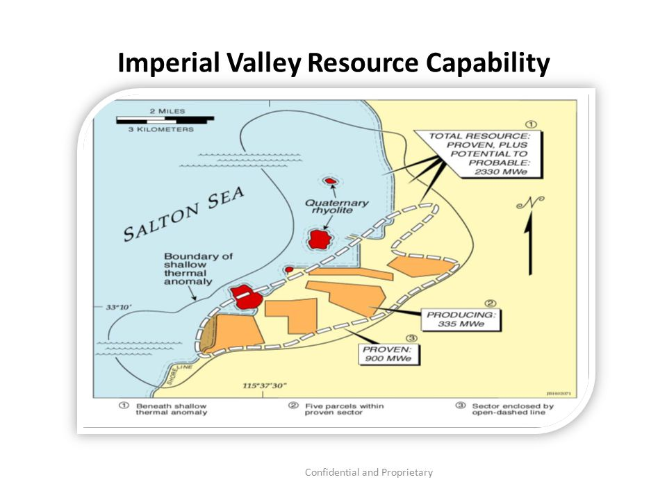 Confidential and Proprietary Imperial Valley Resource Capability