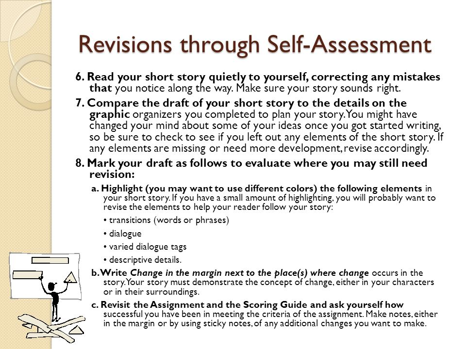 Revisions through Self-Assessment 6.