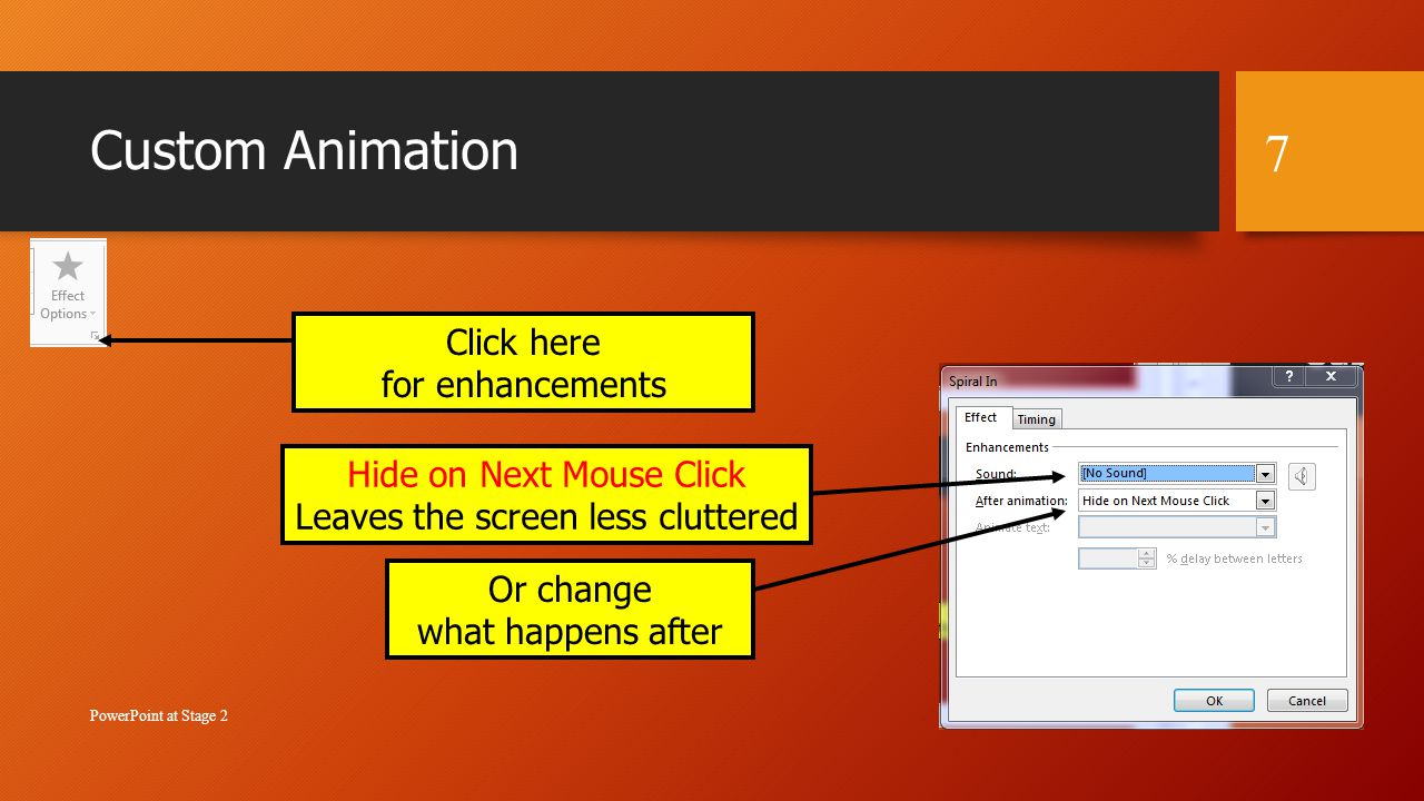 more animations for powerpoint 2007