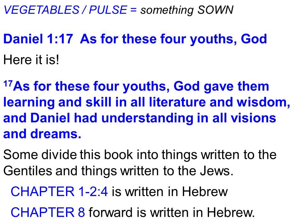WEEK THREE DANIEL 1 pt  2 Daniel 1:8 But Daniel resolved