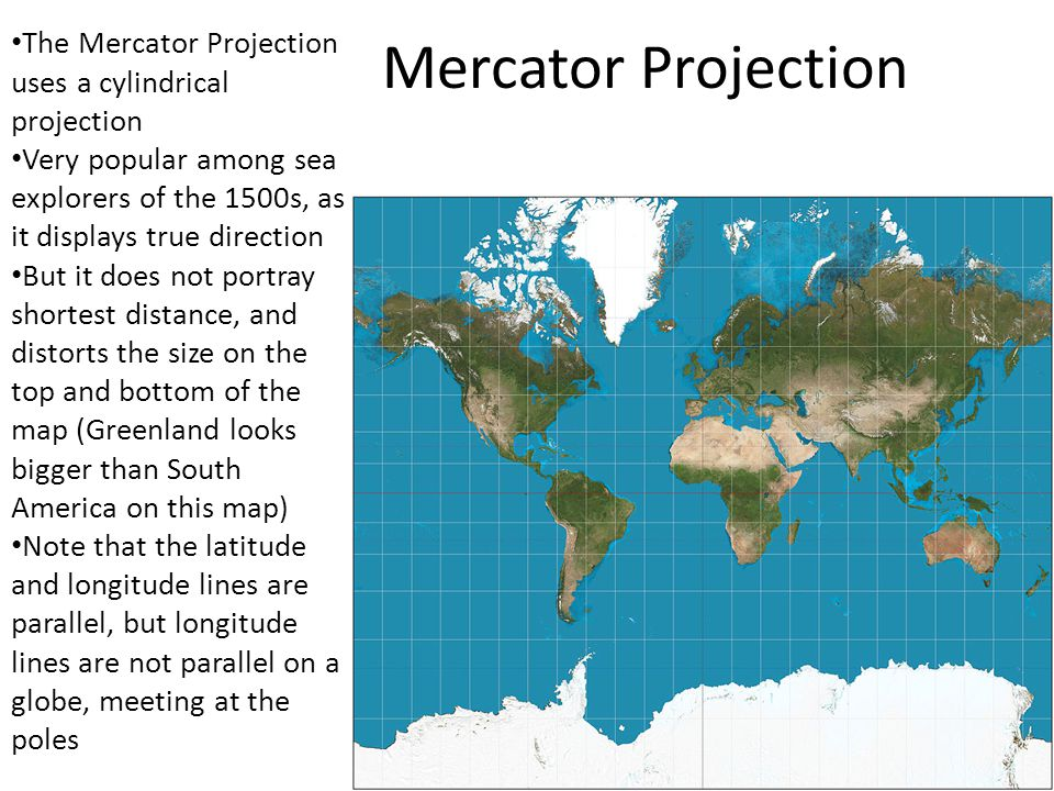 Map Projections Geography Chapter 1 Intro. Globes are the most ...