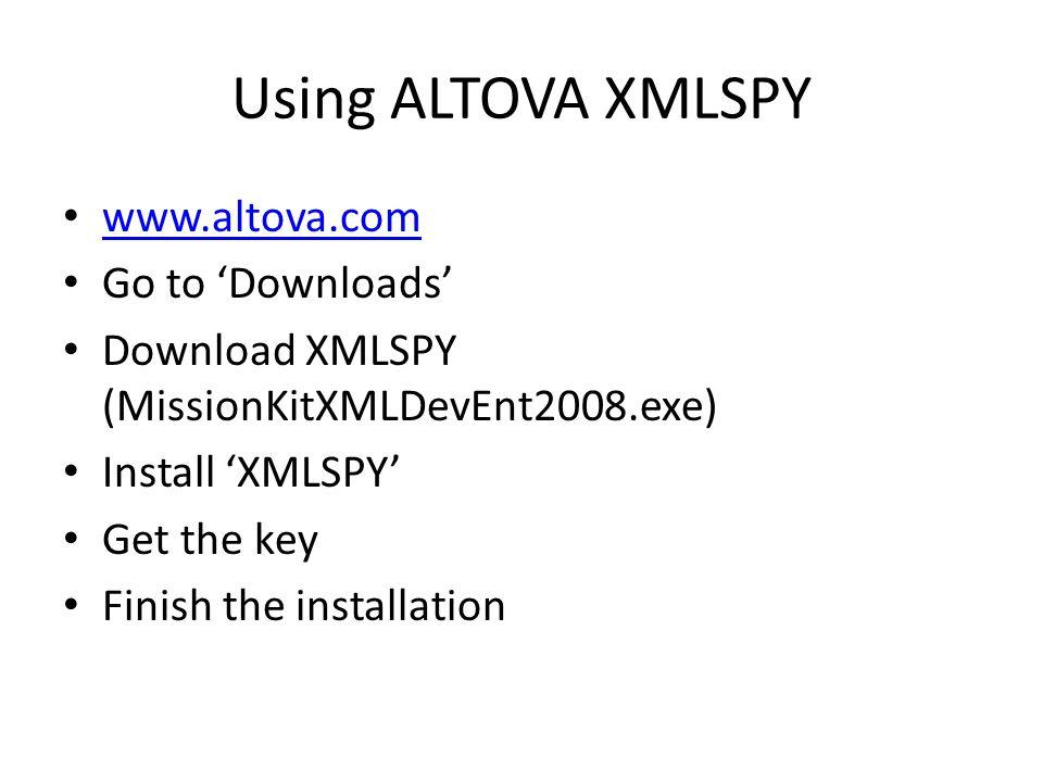 XML/Schema Validation COSC643 Internet Supply Chain