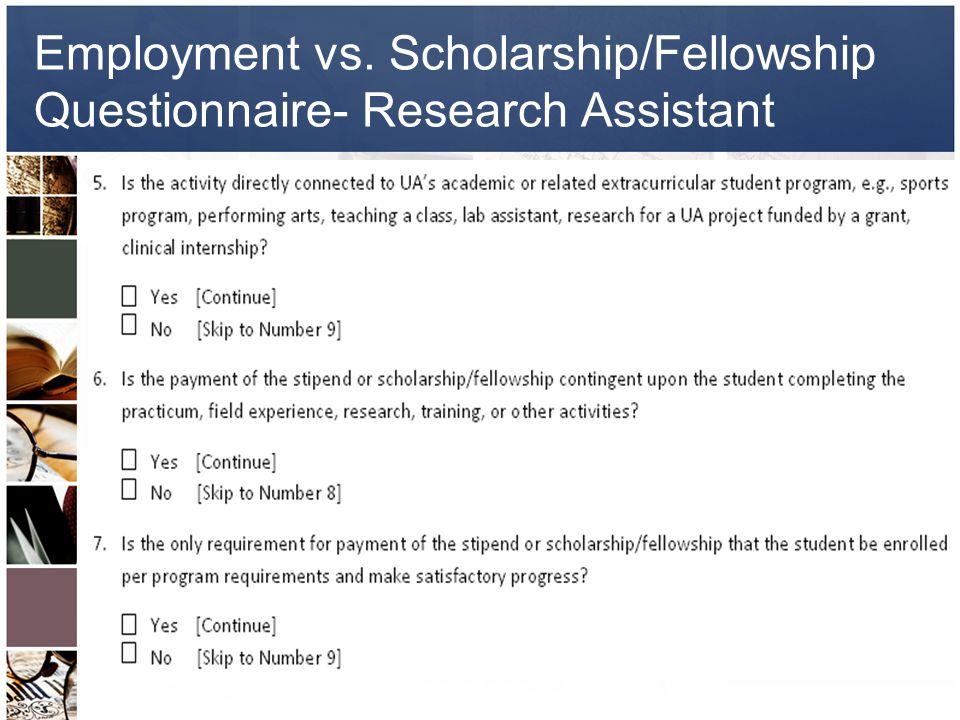 University of Alaska Student Employment and Scholarships/Fellowships