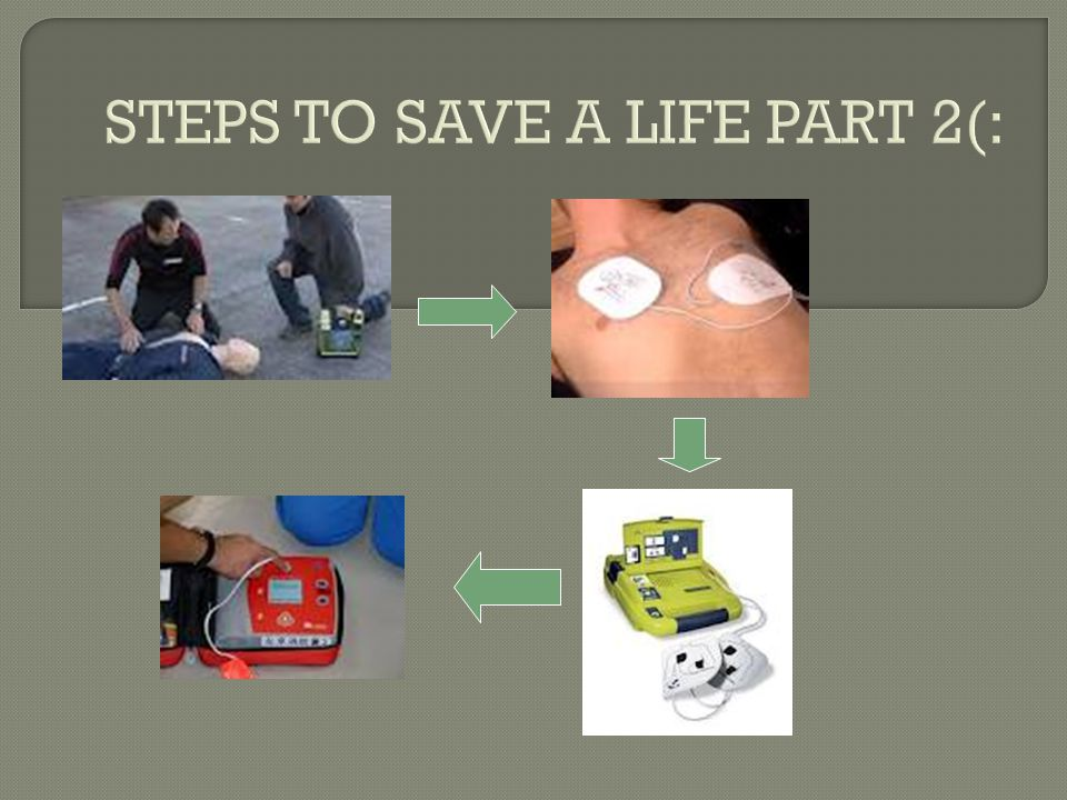 STEPS TO SAVE A LIFE PART 2(:
