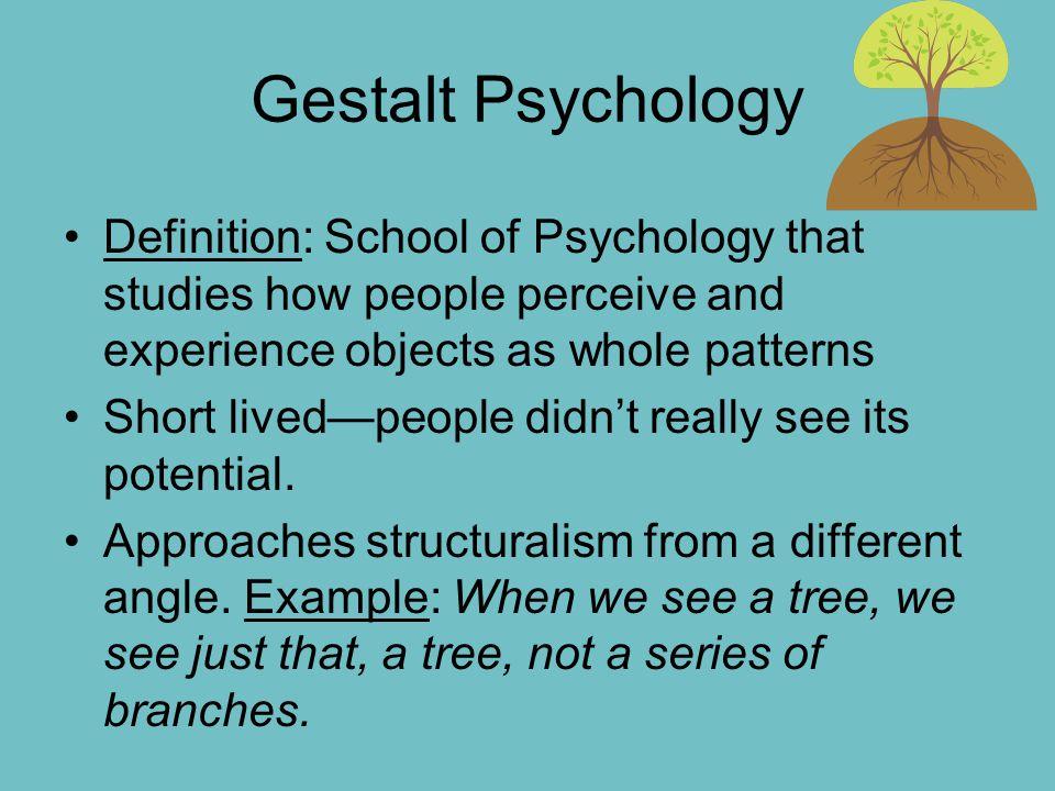 structuralism psychology definition